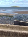 Praia dos Skerries na Irlanda Fotografia de Stock Royalty Free