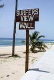 Praia dos surfistas Imagens de Stock Royalty Free