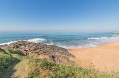 Praia dos surfistas Imagem de Stock Royalty Free