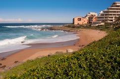 Praia dourada Imagem de Stock Royalty Free