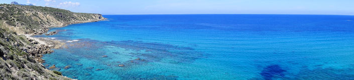 Praia dourada Fotos de Stock Royalty Free