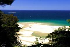 Praia dourada Abel Tasman (3) Fotografia de Stock