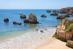 Praia doVau Stockfoto