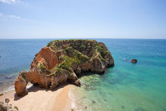Praia doVau Stockfotos