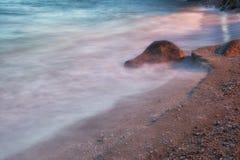 Praia dramática Fotografia de Stock Royalty Free