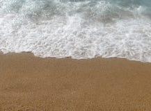 Praia e areia Imagem de Stock