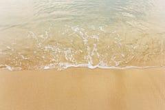 Praia e areia Imagens de Stock Royalty Free