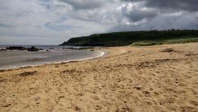 praia e céu de donegal Foto de Stock
