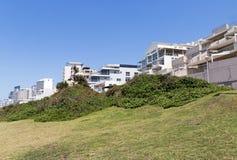 Praia e mar litorais da paisagem em Umhlanga África do Sul Fotos de Stock