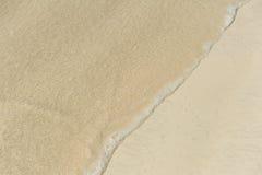Praia e oceano Imagem de Stock Royalty Free