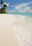 Praia e oceano. Fotos de Stock Royalty Free