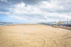 Praia e passeio à beira mar Fotografia de Stock