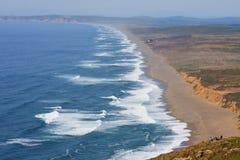 Praia e povos Imagem de Stock Royalty Free