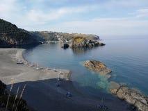 Praia een Merrie - Strand van Scorzone Royalty-vrije Stock Foto