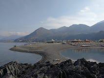 Praia een Merrie - Stranden van Fiuzzi Royalty-vrije Stock Foto