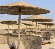 Praia egípcia Imagem de Stock Royalty Free