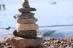 Praia Eilat Fotos de Stock