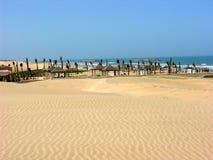 Praia em Agadir em Marrocos Imagens de Stock