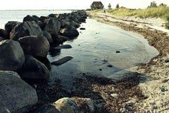 Praia em Alemanha Imagens de Stock