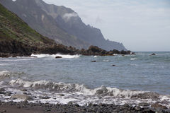 Praia em Almaciga Tenerife Fotos de Stock