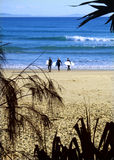 Praia em Austrália Fotografia de Stock
