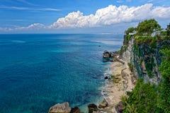Praia em Bali imagem de stock