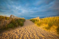 Praia em brittany Fotografia de Stock Royalty Free