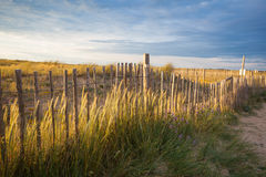 Praia em brittany Imagem de Stock Royalty Free