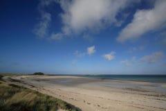 Praia em Brittany, France Foto de Stock