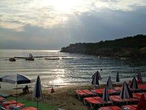 Praia em Buyukada Turquia Fotos de Stock