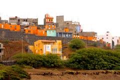 Praia em Cabo Verde Fotografia de Stock