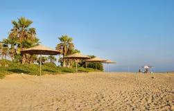Praia em Chipre Foto de Stock Royalty Free
