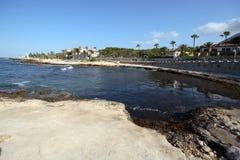 Praia em Denia Imagens de Stock Royalty Free
