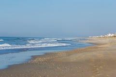 Praia em Emerald Isle foto de stock