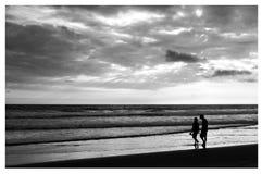 Praia em Equador Imagens de Stock