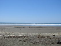 Praia em Esterillos Costa Rica Fotografia de Stock