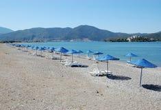 Praia em Fethiye Foto de Stock
