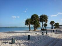 Praia em Florida Fotos de Stock