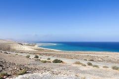 Praia em Fuerteventura Imagem de Stock Royalty Free