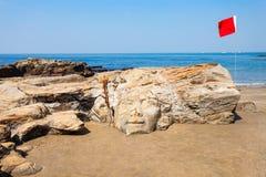 Praia em Goa, Índia foto de stock