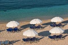 Praia em Greece Foto de Stock Royalty Free