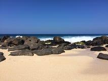Praia em Havaí Foto de Stock