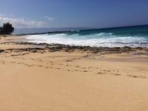 Praia em Havaí Fotografia de Stock