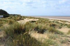 Praia em Hunstanton velho, Norfolk
