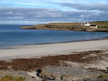 Praia em Inishmore, Ireland Imagens de Stock Royalty Free