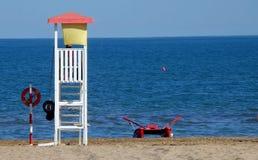 Praia em Italy Fotografia de Stock