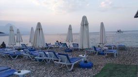 Praia em Kemer Antalya Imagem de Stock Royalty Free