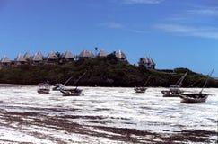 Praia em kenya Imagem de Stock Royalty Free