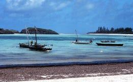 Praia em kenya Fotografia de Stock Royalty Free