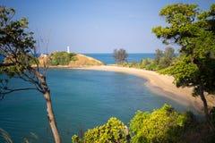 Praia em Ko Lanta Imagem de Stock